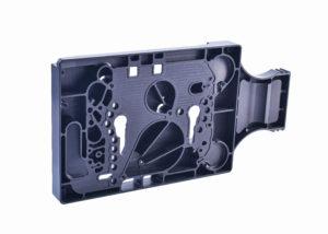 Photo black COP machining, sample carrier