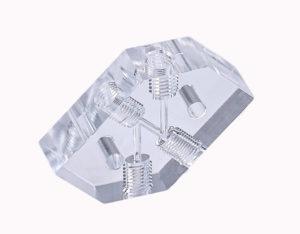 Photo of acrylic plastic - machining and polishing