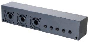 Photo of pvc manifold - 3 valve